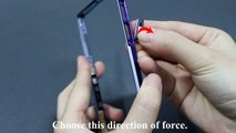 How to Replace Sony Xperia Z1 USB Cover +SIM Card Slot+SD Memory Card Slot Cover