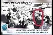 JOHN TITOR VIAJEROS EN EL TIEMPO, JOHN TRAVOLTA, NICOLAS CAGE Y KEANU REEVES