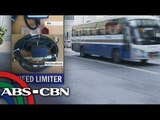 LTFRB mulls speed limiter on buses