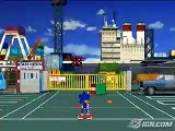 Sega Superstars Tennis (DS) - Virtua Cop Gameplay