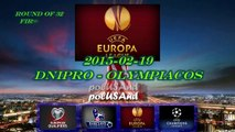 Dnipro vs Olympiacos 2-0 - 2015-02-19 - Europa League - All Goals & Match highlights