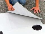 Installation Floor. Any surface material. Hook & Loop. TacFast System V2