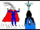 super bad guy - general bad guy parody batman spiderman etc.