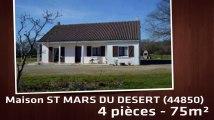 A vendre - Maison/villa - ST MARS DU DESERT (44850) - 4 pièces - 75m²