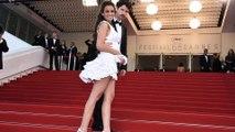 #FestivalDeCannes2015 : Lucie Lucas (Clem) fait le buzz avec sa robe sexy !
