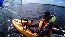 Hobie Mirage Outback sailing
