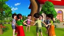 Ringa Ringa Roses - 3D Animation English Nursery Rhyme Songs for Children