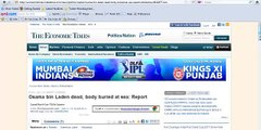Osama bin Laden buried at sea! Osama bin Laden's Dead Body Buried at Sea!