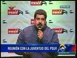 "Maduro amenaza a opositores: ""Que vaya a la cárcel quien tenga que ir"""