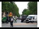 Policiers ivres à Paris Accident  humour