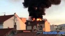 VIDEO. Un appartement détruit par les flammes à La Seyne