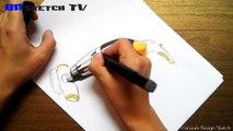 """온스케치 TV Product Sketch - """"Vacuum Cleaner Design sketch2 (Color Pencil+Shinhan Touch Marker)"""""""