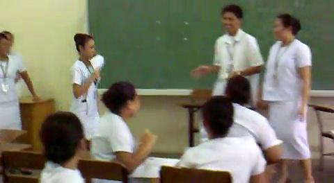 Talkshow in Filipino.