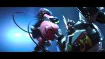robot fight battle combat (big hero 6)