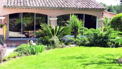 Vente Villa Provençale - Valbonne - 250 m² - Jardin de 5000 m² - Vue panoramique - Piscine