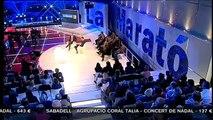 TV3 - La Marató 2010 - Gerard Piqué a la Marató