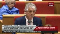 Commission - Table ronde sur la réforme du collège avec les représentants des syndicats d'enseignants