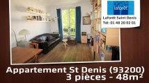 A vendre - Appartement - St Denis (93200) - 3 pièces - 48m²