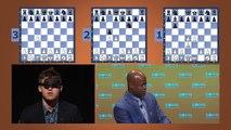 Un grand maître des échecs bat 3 personnes à l'aveugle