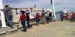 Oklahoma Militia joins fight against Feds at Bundy Ranch