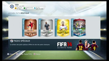 PACK OPENNING FIFA 14