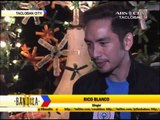 Rico Blanco cheers up typhoon survivors on New Year's Eve