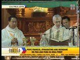 Papal Nuncio holds mass in Leyte