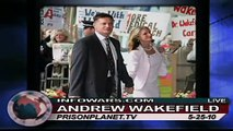 Dr. Andrew Wakefield Warns of Tainted Vaccines Link to Autism on Alex Jones Tv 1/4