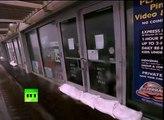 El huracán Sandy 'golpea las puertas' de Nueva York