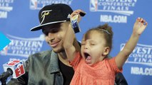 Riley Curry Steals Post Game Spotlight Again