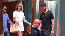 Taylor Swift und Calvin Harris am Morgen danach