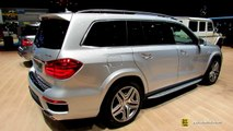2014 Mercedes-Benz GL-Class GL500 4-Matic - Exterior and Interior Walkaround-2014 Geneva Motor Show