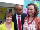 Chuka Umunna, Tessa Jowell MP and Cllr Rachel Haywood talk culture