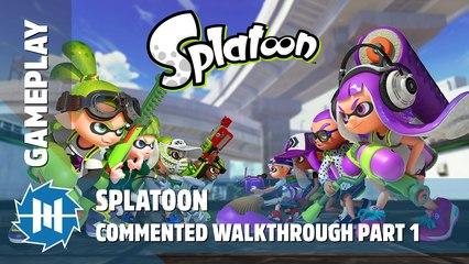 Splatoon - Commented Walkthrough Part 1