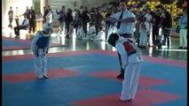 WTF Taekwondo FIGHT and demonstration - Mate Taekwondo Team Hungary 2011