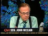 John McCain on Larry King Live May 24, 2006 - Falwell