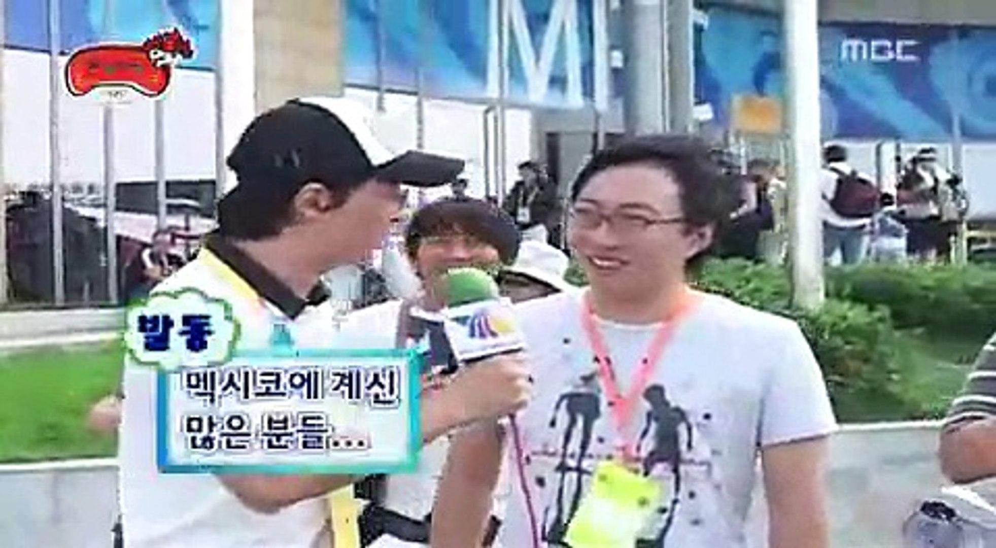 Korea TV show met Mexico TV show.