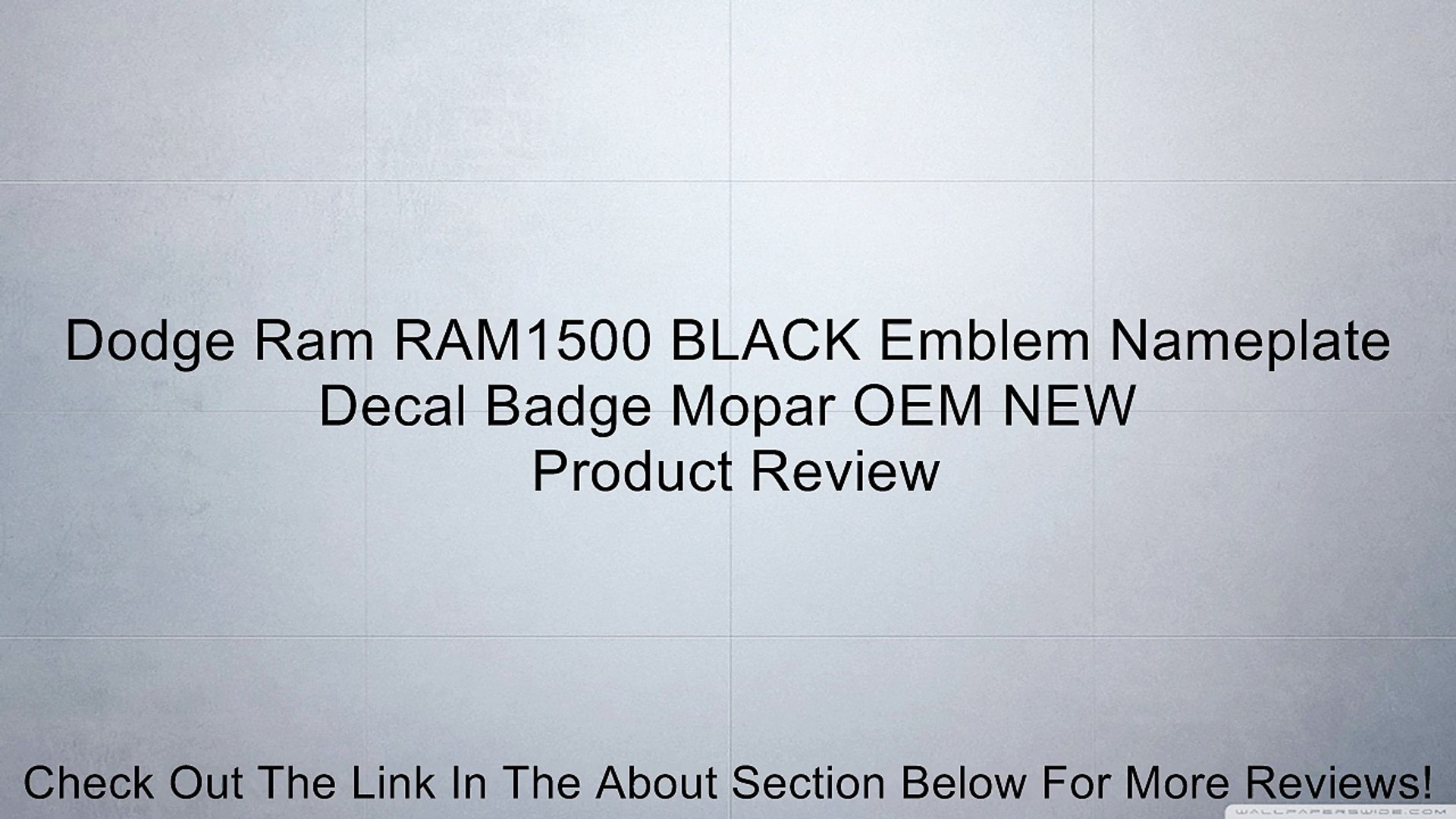 2003-2005 Dodge Ram 1500 2500 3500 A Pillar Panel Passenger Side Right MOPAR OEM