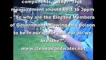NWO poisoning rain water
