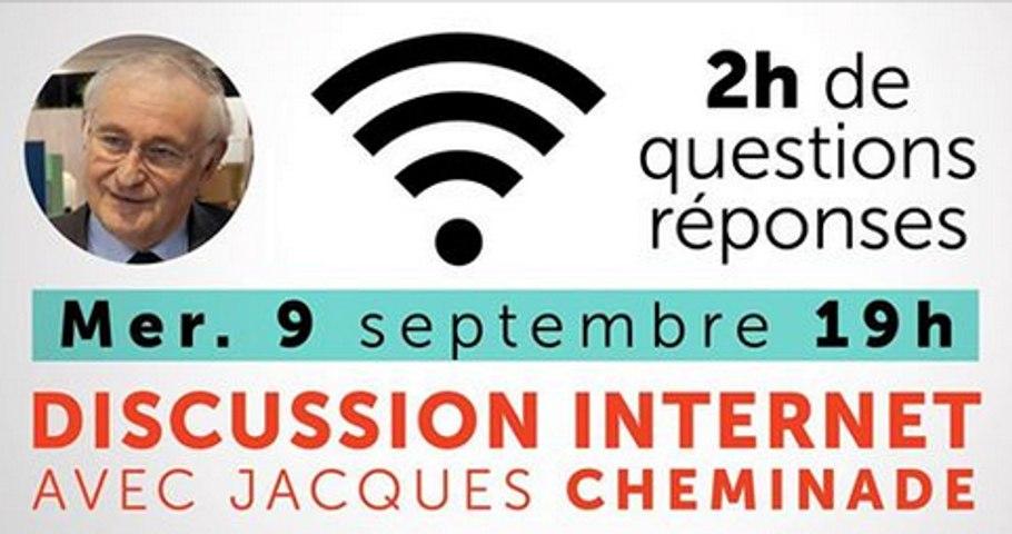 Septembre 2015 : réunion de rentrée avec Jacques Cheminade