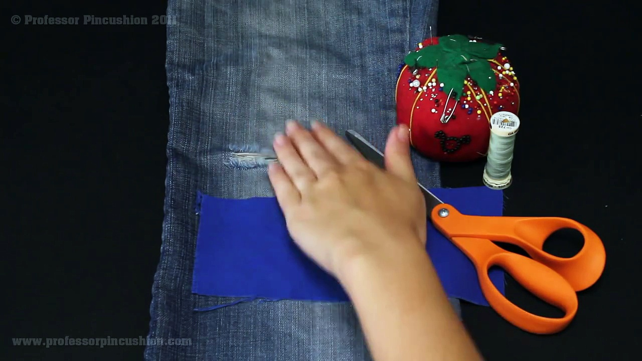 How to Repair Your Jeans | Levi's®. http://bit.ly/2zwnQ1x
