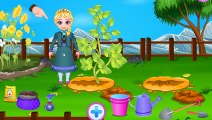Jeu de jardin de Frozen Elsa_ - cultiver des légumes avec Elsa dans le jardin