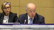 TRAVAUX ASSEMBLEE 14E LEGISLATURE : Audition de Laurent Fabius sur la préparation de la COP21 (Paris 2015)