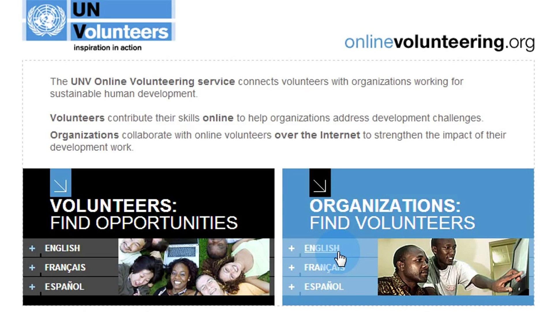 Online Volunteering for NGOs (ENG)
