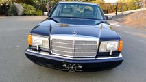 1990 Mercedes Benz W126 420SEL Saloon 1 Owner Low Miles NR MINT HD Video