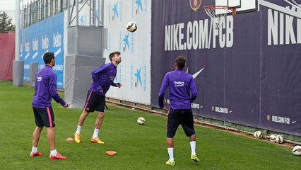 Training session (22/04/15): Recovery session...