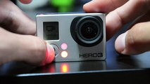 GoPro #1 Como reducir e desactivar o son beep beep _ Reduce and turn off beep beep sound