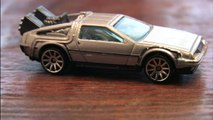 CGR Garage - BACK TO THE FUTURE TIME MACHINE Hot Wheels review
