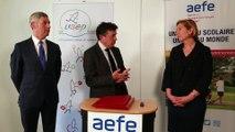 Signature d'un protocole de partenariat entre l'AEFE et l'USEP