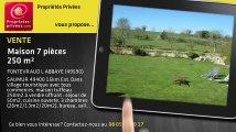 A vendre - maison - FONTEVRAUD L ABBAYE (49590) - 7 pièces - 250m²